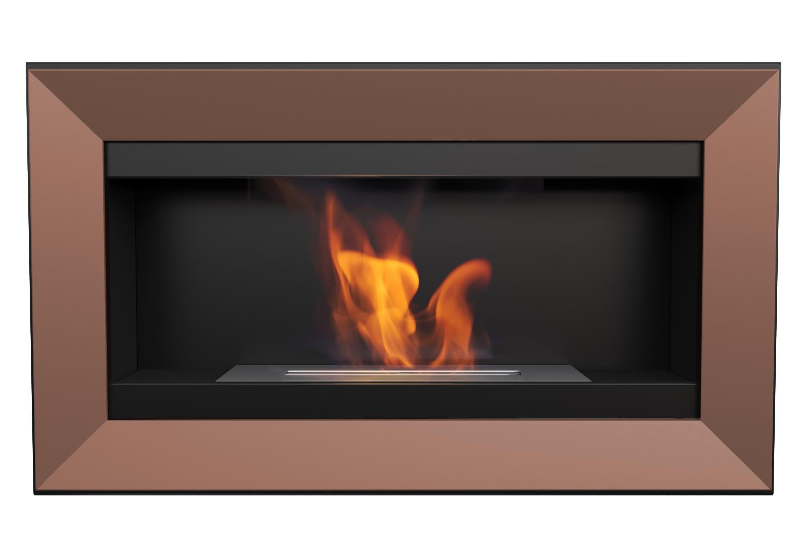 kupfer biokamin dekorativkamin bio ethanol kamin gelkamin wandkamin t v gepr ft. Black Bedroom Furniture Sets. Home Design Ideas