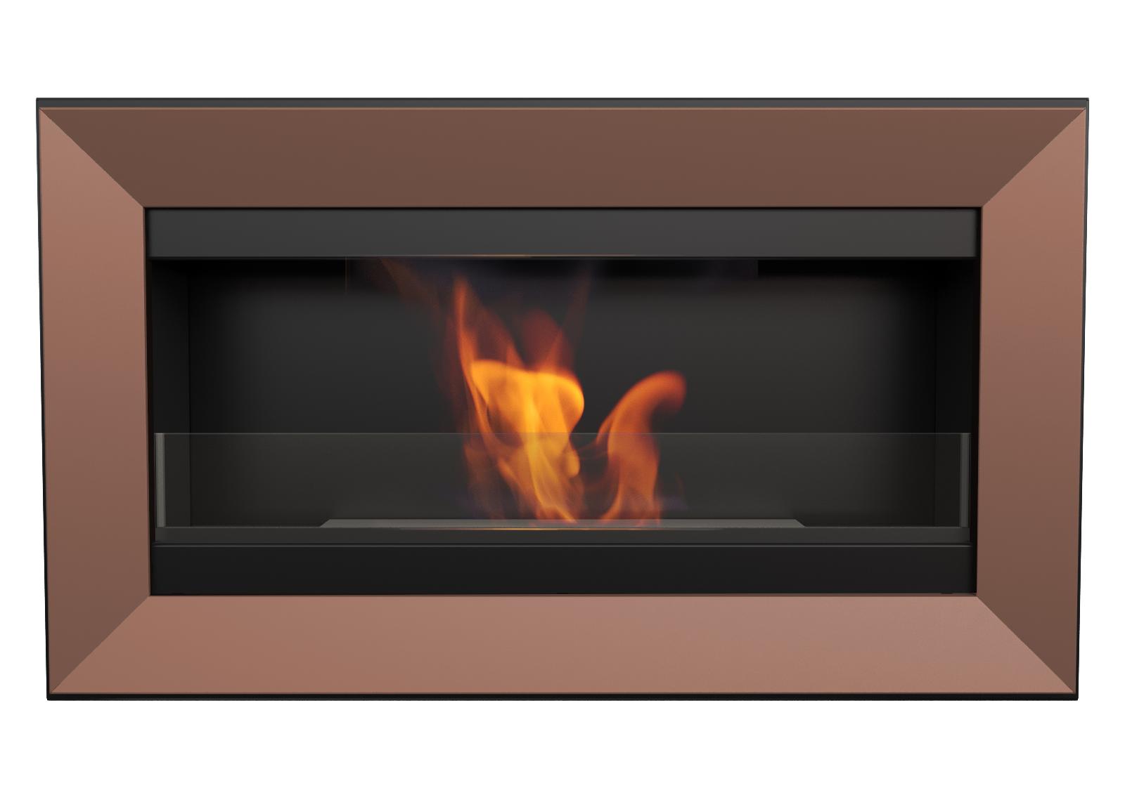 biokamin wandkamin ethanol kamin kupfer dekorativkamin gelkamin mit glassscheibe ebay. Black Bedroom Furniture Sets. Home Design Ideas