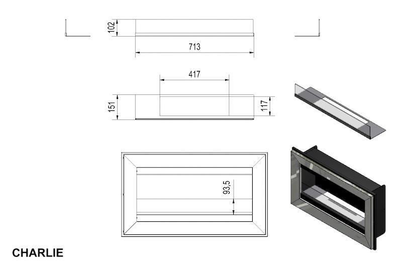 bio kamin wandkamin ethanol kamin kupfer kollbrunn acheter sur. Black Bedroom Furniture Sets. Home Design Ideas