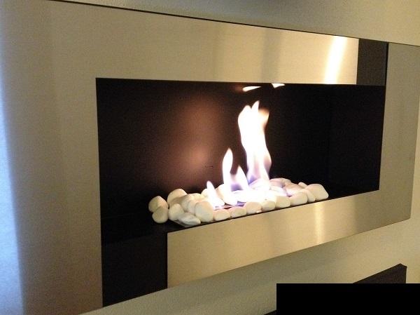 wandkamin biokamin bio ethanol kamin edelstahl modell q 900 edelstahl mit t v ebay. Black Bedroom Furniture Sets. Home Design Ideas